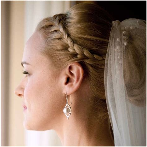 Wedding Hairstyles With Braids And Veil by Wedding Hairstyles With Braids And Veil Wedding Hairstyle