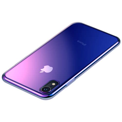 baseus protective case  iphone xr gradient glow
