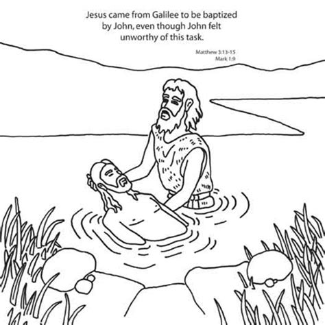 printable coloring pages john the baptist printable coloring pages john the baptist free baptism of