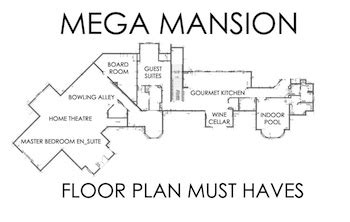 mega mansion floor plans mega mansion floor plans the must amenities supreme auctions
