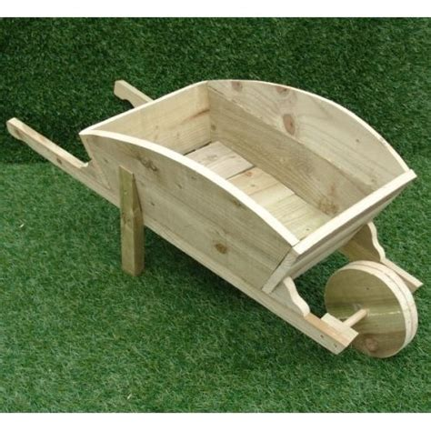 Wooden Wheelbarrow Planter by The World S Catalog Of Ideas