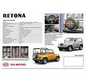 1999 Kia Retona Brochure
