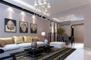 Interior Design For Living Room And Dining Room by Dining Room Interior Design Rendering 3d Indian Style