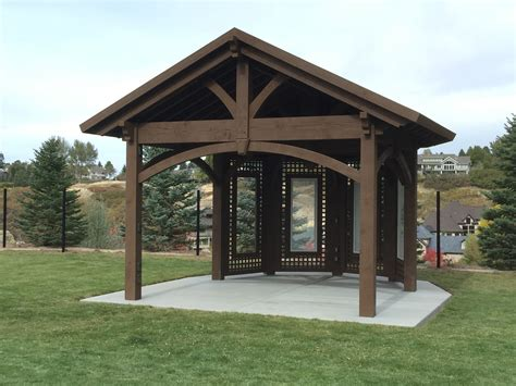 pergola pavillon home show inspiration install custom gazebo pavilion plan