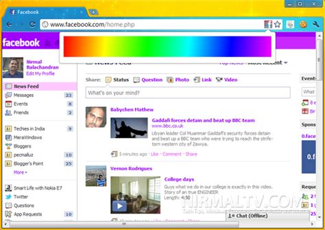 facebook themes website change facebook colors themes