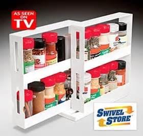 Spice Racks As Seen On Tv Swivel Store Space Saving Organizer As Seen On Tv