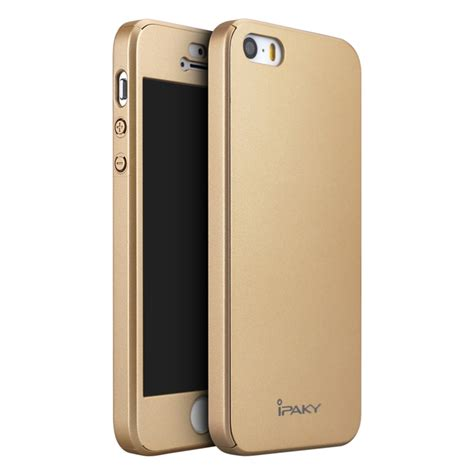 Ipaky For Iphone 5 5s Se ipaky helomslutande skal h 228 rdat glas iphone 5 5s se guld