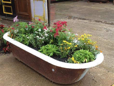 unique planters unique planter idea outside garden ideas