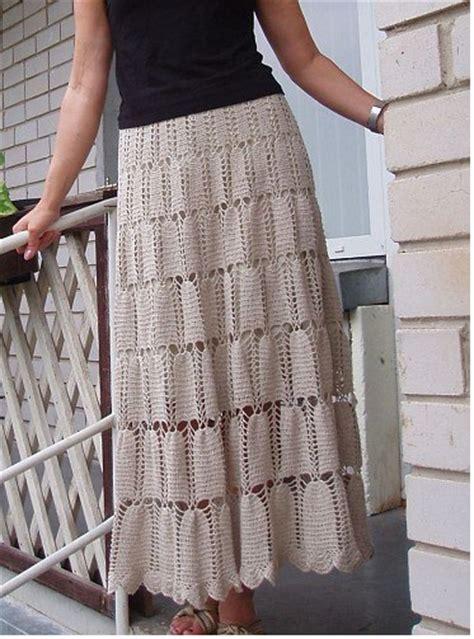 Square Maxi Br Cc79 ivelise feito 224 m 227 o saia longa em croch 234 gr 225 fico