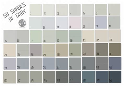 shades of gray colors shades of gray paint home design
