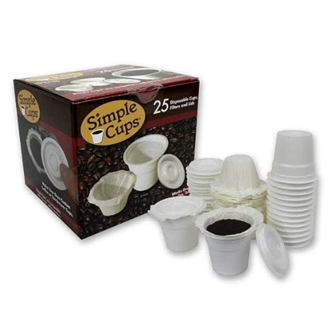Make Your Own Keurig Paper Filters - disposable cups for use in keurig 174 brewers simple cups
