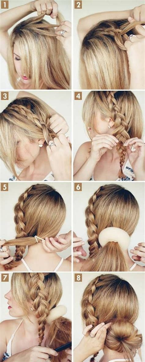 easy hairstyles at home step by step easy hairstyles for long hair to do at home step by step