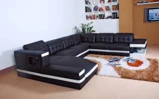 Best Modern Sofa Designs Gain Seating With A Durable Leather Corner Sofa