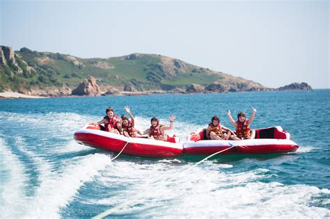 banana boat ride jersey inflatable rides with absolute adventures visit jersey
