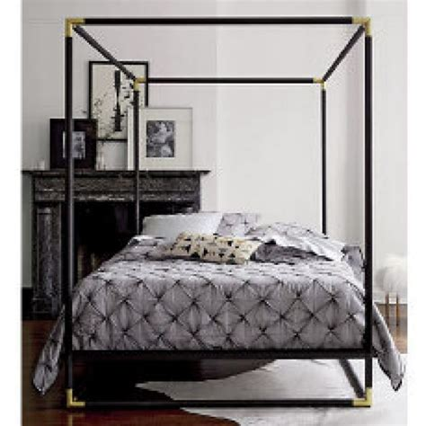 Four Poster Canopy Bed Frame Complete The With A Four Poster Bed Toronto