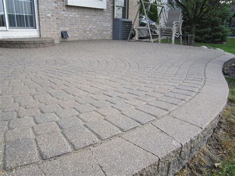Patio Pavers Cost Brick Pavers Canton Plymouth Northville Arbor Patio Patios Repair Sealing