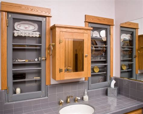 in wall medicine cabinet oak home ideas collection in