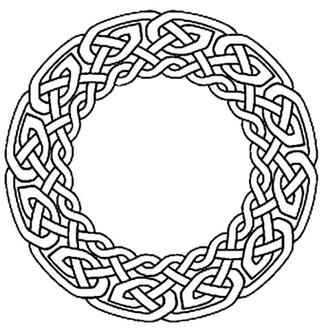without color celtic circle tattoo design tattooshunt com