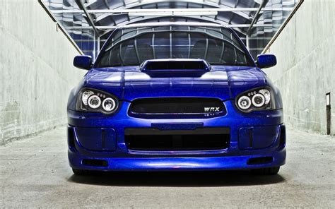 subaru impreza modified blue subaru impreza wrx sti blue rear car 6991726