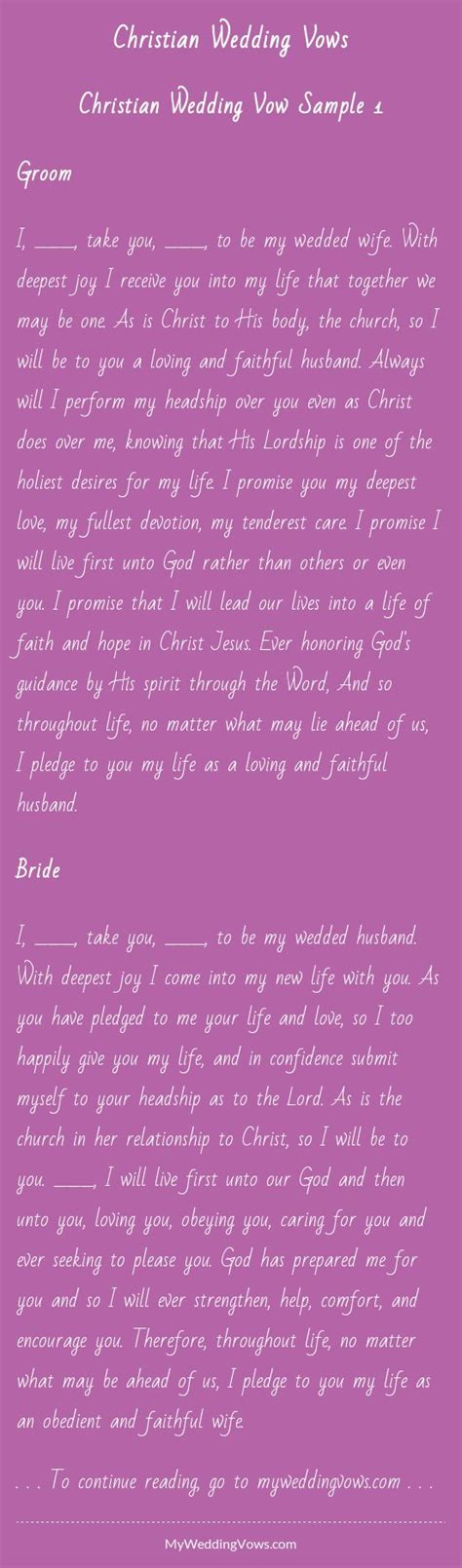 Wedding Vows Christian by 17 Best Images About Wedding Vows On