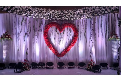 Trending wedding reception backdrops  Chennai
