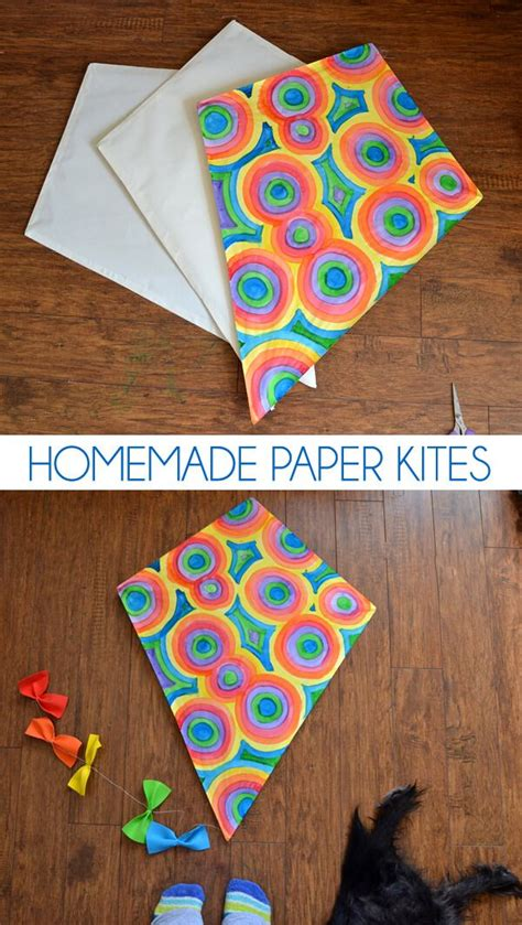 How To Make Simple Kite From Paper - diy paper kites simple kite the o