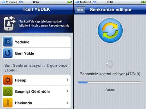 iphone u bilgisayara yedekleme iphone telefonlarda rehber yedekleme