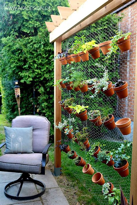 How To Make Wall Planters by 19 Creative Ways To Plant A Vertical Garden How To Make