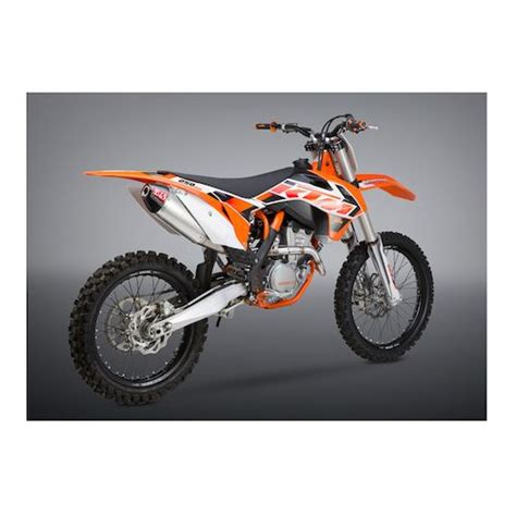 Ktm Exhaust Systems Yoshimura Rs 4 Exhaust System Ktm 250 Sx F 2013 2015