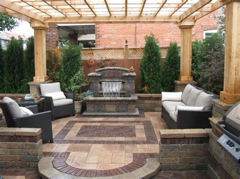 backyard patio patio ideas for a small yard landscaping gardening ideas