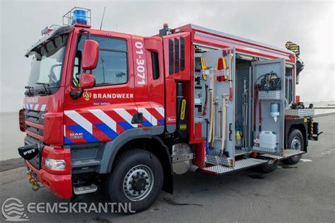 vr bank brand erbisdorf brandweer delfzijl neemt nieuw hulpverleningsvoertuig in