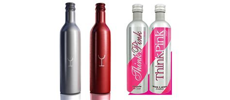 aluminium bottle new trend aluminum bottles for wine shining aluminum
