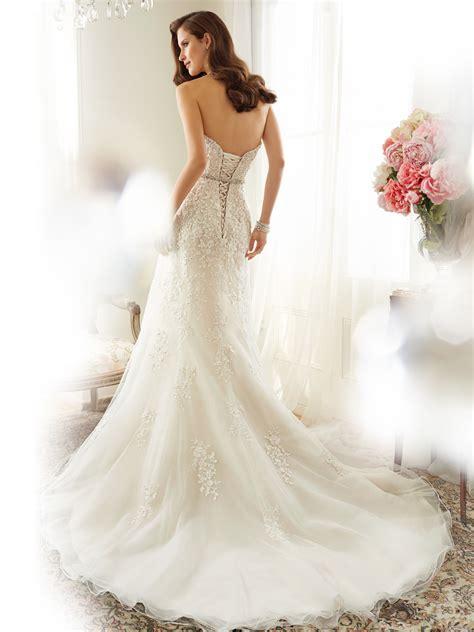 Fashion Dress Roella a line wedding dress with strapless neckline
