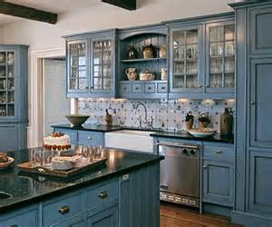 Kitchen Cabinets Blue Kitchen Design Ideas For 2015 Color Trend Remodeling Contractor