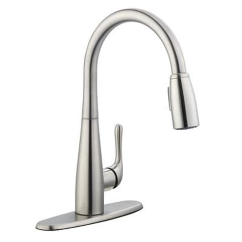 glacier bay 900 series pulldown kitchen faucet in