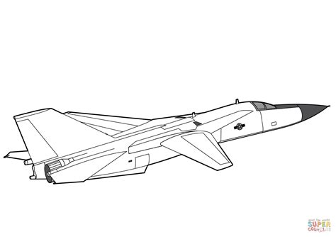F 16 Coloring Pages by F 111 Aardvark Coloring Page Free Printable Coloring Pages