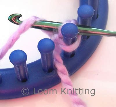 cable cast on loom knitting 63 best images about breien met de breiring on