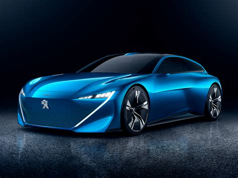 peugeot car peugeot unveiled a stunning concept car that can drive