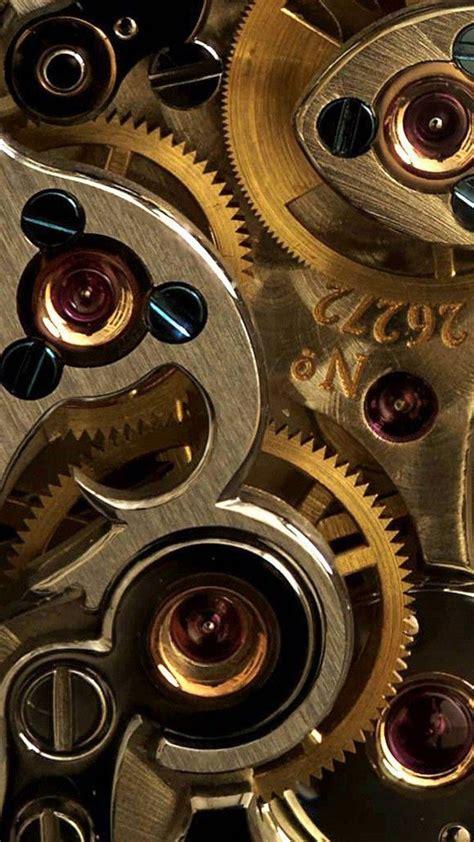 bronze  gold gears wallpaper steampunk wallpaper