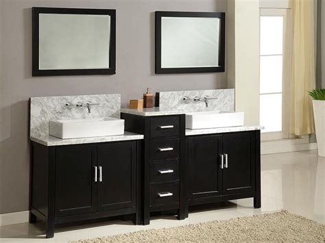 Black Bathroom Vanities With Tops 20 Gorgeous Black Vanity Ideas For A Stylishly Unique Bathroom