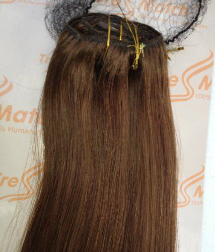 tressmatch hair extensions tressmatch 20 quot 22 quot remy human hair clip in extensions