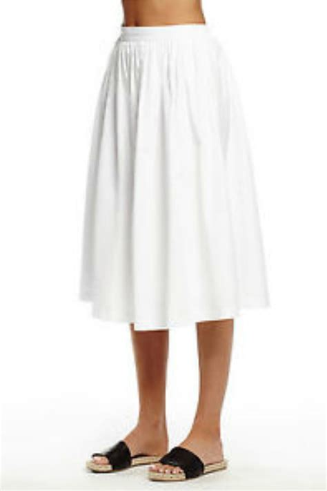 Whita Skirt michael white midi skirt from pennsylvania by well heeled boutique shoptiques