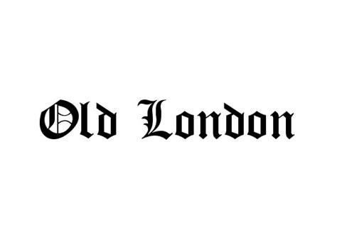 dafont old london フリー素材 エッジの立った角と柔らかい曲線を組み合わせてデザインされたゴシック調の英語フリーフォント