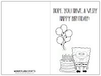 printable happy birthday ouija board birthday card template crafts garfield