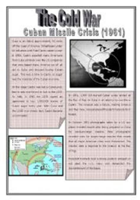 Cuban Missile Crisis Worksheet by Cold War Episode 3 Cuban Missile Crisis
