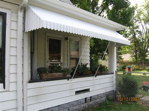 metal porch awnings aluminum porch awning 5