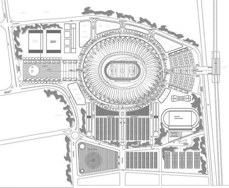 layout plan of new delhi jawaharlal nehru stadium new delhi arena building e