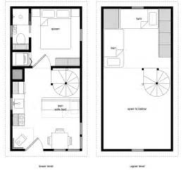 Tiny House Floor Plans Free 12 215 24 Twostory 10