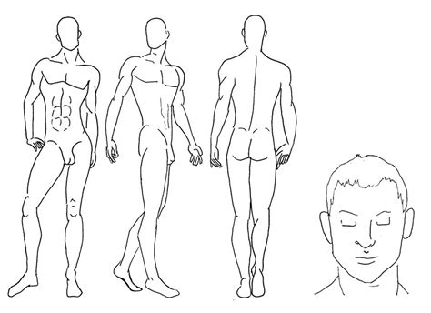 male croquis worksheet 4 by cirk us on deviantart