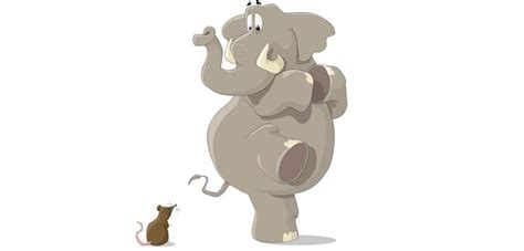 Mouse Elephant are elephants really frightened by mice